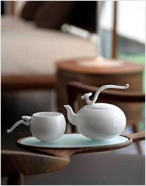 优雅时尚的茶具